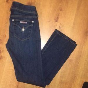 Hudson denim jeans Ginny straight size 27